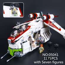 New 05041 Genuine StarWar Series The The Republic Gunship Set Educational Building Blocks Bricks Toys