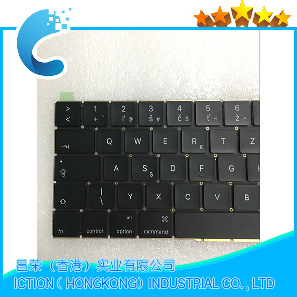 Original New A1707 Keyboard Czech for Apple Macbook 15.4 A1707 Czech Keyboard Late 2016 Mid 2017 Year original new laptop keyboard replacement for macbook pro 15 15 4 a1707 2016 us keyboard with backlight
