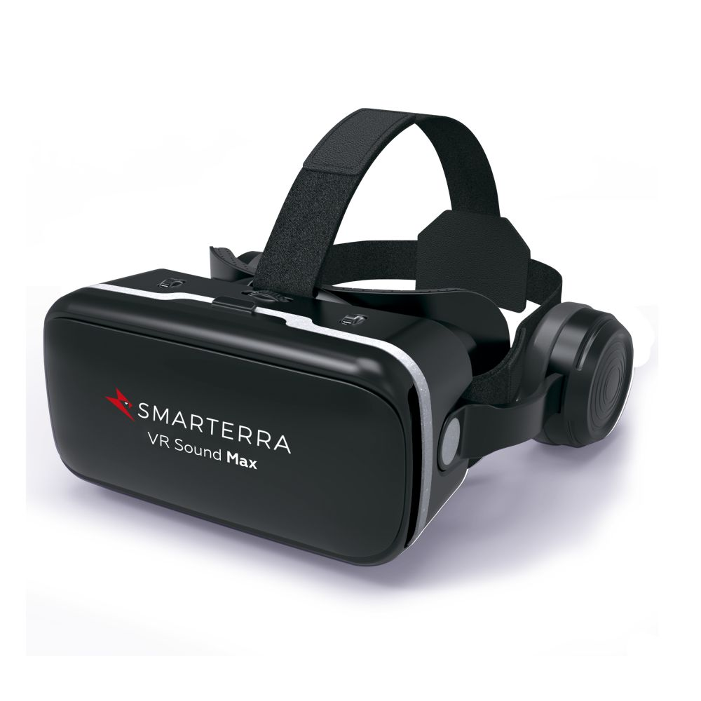 3D Glasses/VR Glasses Smarterra 3DSMVRMAXBK augmented reality Portable audio video mini foldable 3d vr glasses for smartphone