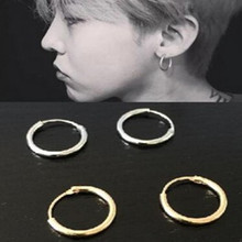 New fashion jewelry zinc alloy circle earrings ear rings couple of men and women free shipping
