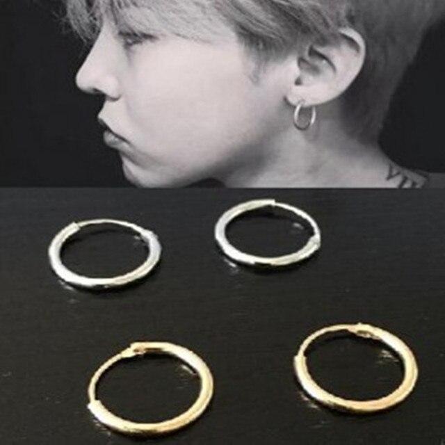 New trang sức hợp kim kẽm vòng tròn earrings khuyên tai vài người đàn ông và phụ nữ miễn phí vận chuyển