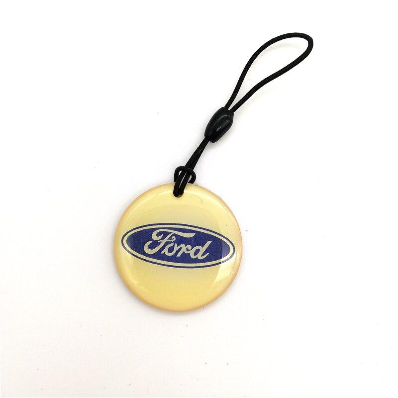 1Pcs EM4305 Rewritable 125khz Proximity Card RFID Duplicator Badge Copy Keyfob Tag Tickets Key Fob Token Ring