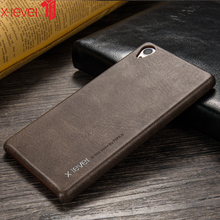 X-Level PU Leather Case For Sony Xperia Z3 Super Light Ultra Thin Original Business Back Phone Cover Case For Sony Z3