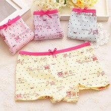 Summer the new children's cotton underwear men and women Printed cartoon cute baby boxer briefs Girls underwear