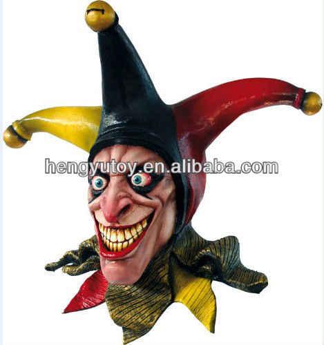 2018 Новинка Хэллоуин вечерние Косплей Маска человека латексная маска злая маска Маскировка лицо клоуна маска на голову