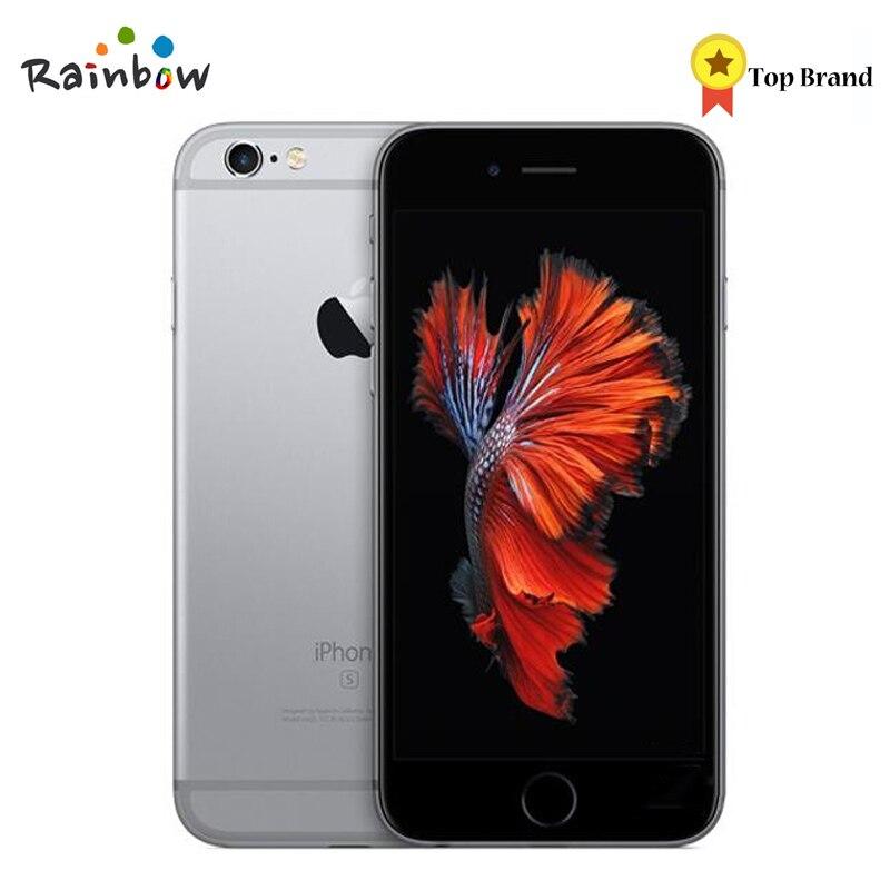 D'origine Apple iPhone 6 s 4G LTE IOS Téléphone Portable Dual Core 2 GO de RAM 4.7 pouces Écran avec 12MP arrière Caméra 5MP Avant Caméra