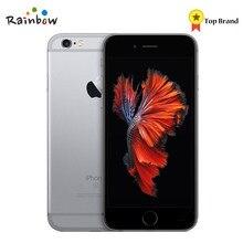 Original apple iphone 6s 4g lte ios celular duplo núcleo 2gb ram tela de 4.7 polegadas com câmera traseira 12mp 5mp câmera frontal