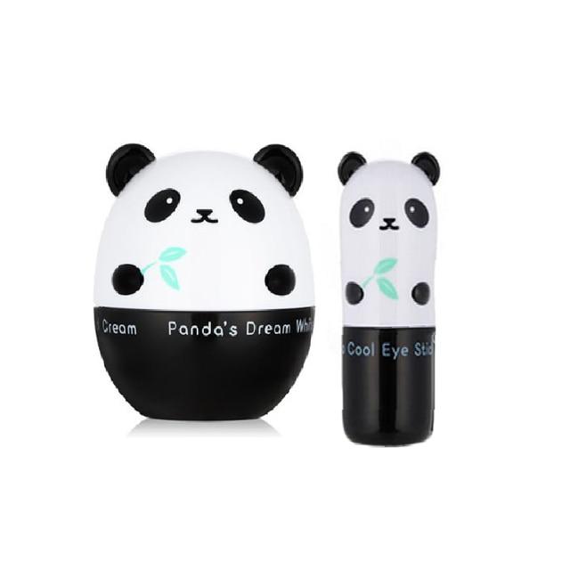Korea Panda's Dream White Magic Cream 50g + So Cool Eye Stick 9g Face Care Whitening Facial Cream Eye Care Eye Cream 2pcs
