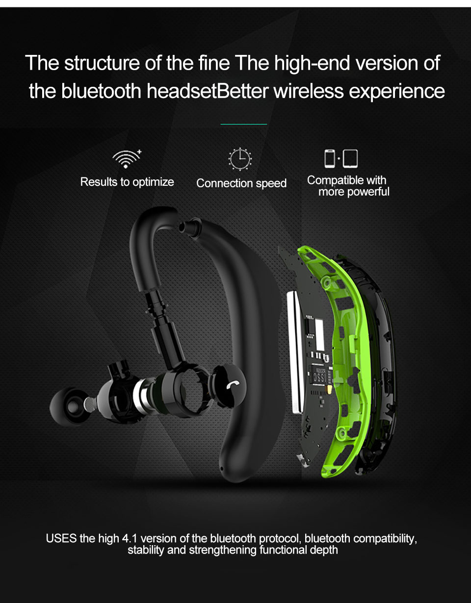 Bluetooh Wireless Music Headset
