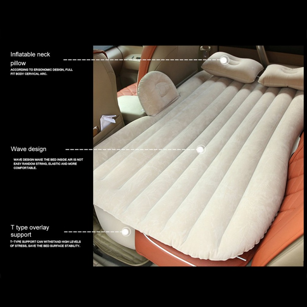 Large Size Durable Car Back Seat Cover Car Air Mattress Travel Bed Moisture proof Inflatable Mattress Air Bed for Car Interior in Car Travel Bed from Automobiles Motorcycles