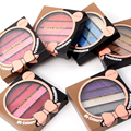 MISS ROSE 5-Color Academy Make-up Palette Set Shimmer Eyeshadow Long-lasting Easy to Wear 7001-065MT