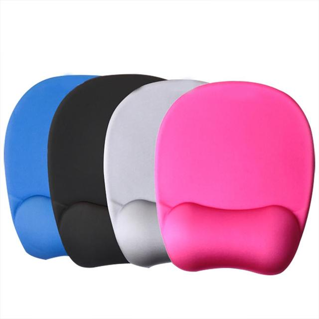 Hot Sale Memory Foam Wrist Guard Comfortable Soft Mouse Pad For PC Computer Laptop Desktop Gaming Office Mouse Pad Wrist Rest