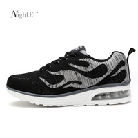 Night Elf Men Running Shoes Men Luxury Lifestyle Sneakers Breathable Gym Trainers 2017 Summer Trendy Sport