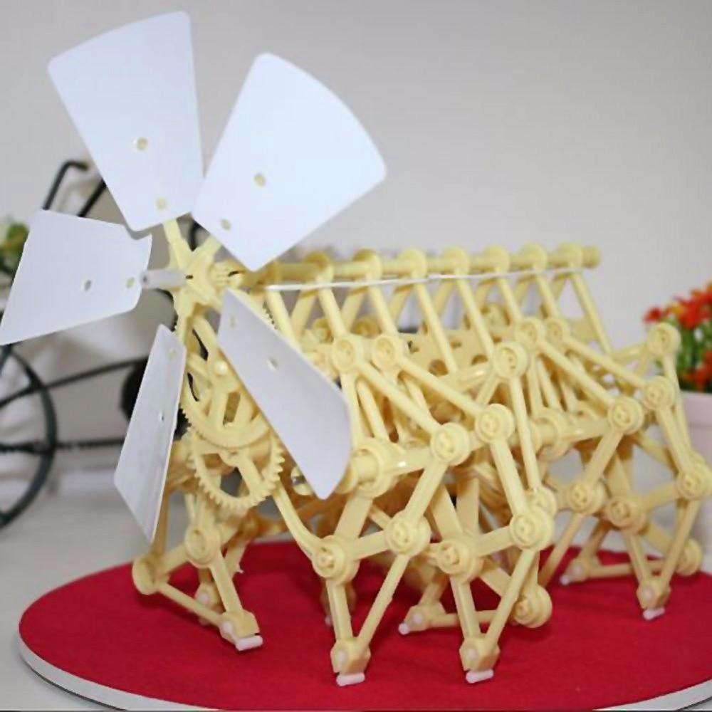 Kits Modelo de Construção eólico diy andar walker mini Tema : Diy Toy