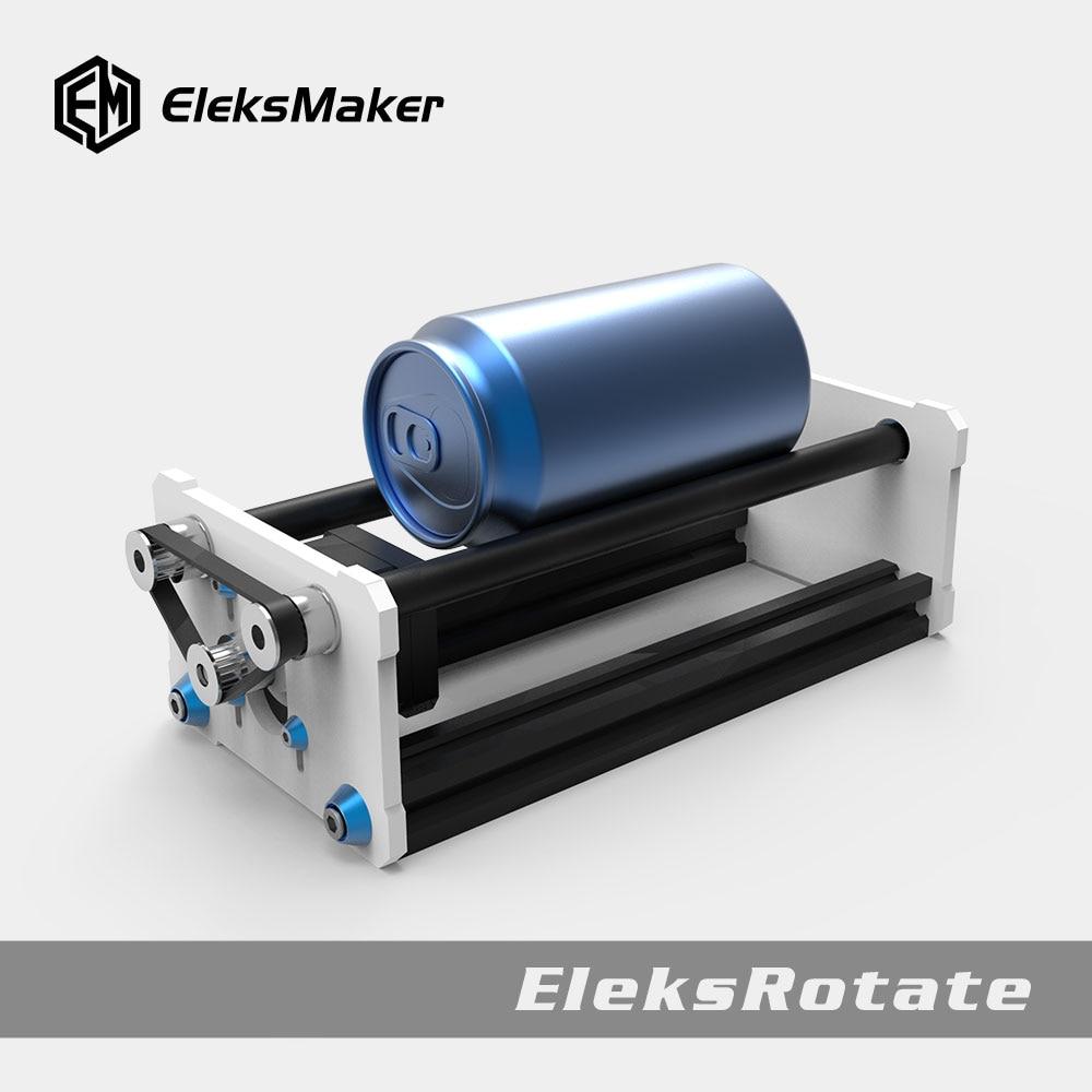 EleksMaker® EleksRotate Rotate Engraving Module A3 Laser Engraver Y Axis DIY Update Kit With Stepp For Column Cylinder Engraving