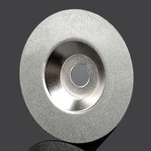 100mm Dremel Accessories Diamond Cutting Disc Grinding Polishing Wheel Disc Circular Saw Blade For Dremel Rotary Tool Power Tool(China)