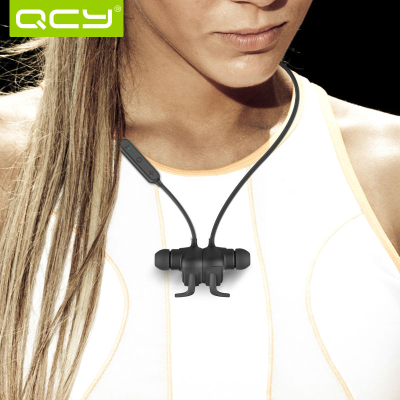 Qy12 qcy auriculares bluetooth wireless headset auriculares con micrófono funció
