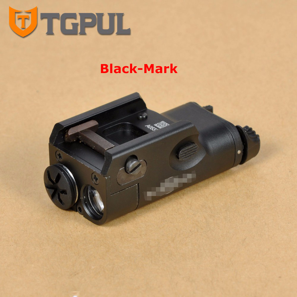 TGPUL Tactical Handgun Flashlight XC1 Weaponlight LED Ultra Compact Pistol Light For Picatinny Rail Mount Hunting Streamlight tgpul tactical x400 gun light led flashlight for pistol handgun laser combo light hunting scout torch for weaver picatinny rail