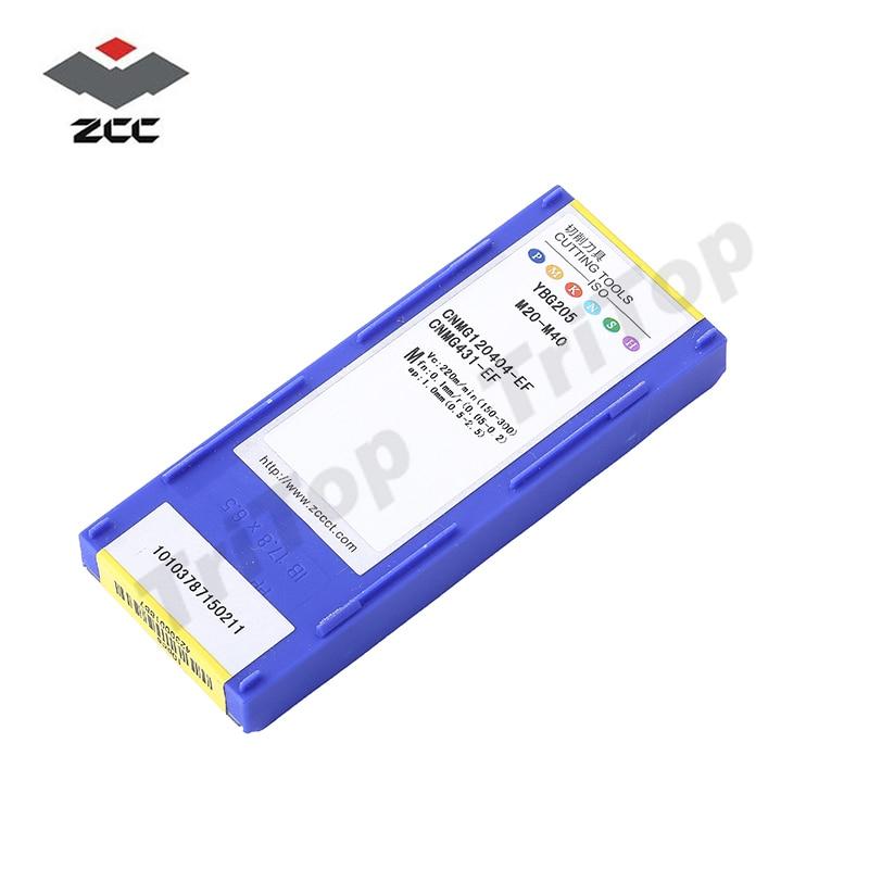 10vnt / partijoje parduodama ZCC.CT YBG205 CNMG 120404 -EF volframo - Staklės ir priedai - Nuotrauka 6