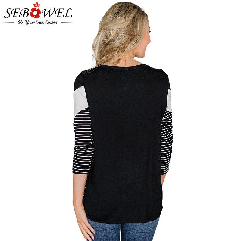 Black-White-Striped-and-Chevron-Colorblock-Top-LC251315-2-2