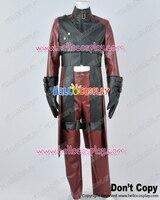 Devil May Cry DMC 2 Косплэй Данте Красный кожа Равномерное Костюм H008