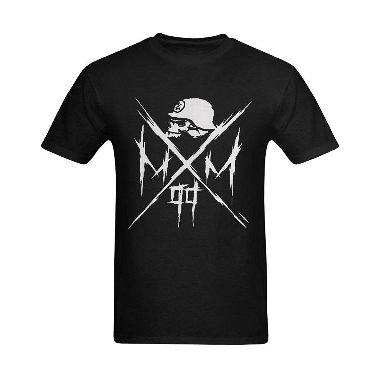 Newest Fashion Gildan O-Neck Short Sleeve Mens Metal Mulisha Hats Cool Logo Design Graph ...