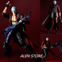 ALEN Play Arts KAI Devil May Cry 3 Dante PVC kid Action Figure Collectible Model Toy