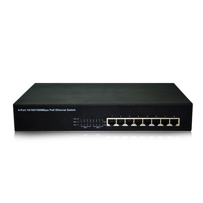COMFAST CF-S1008P ethernet switch 8 port 16Gbps capacity 8-port 10/100Mbps smart poe lan network switch 100~240V AC,50/60Hz