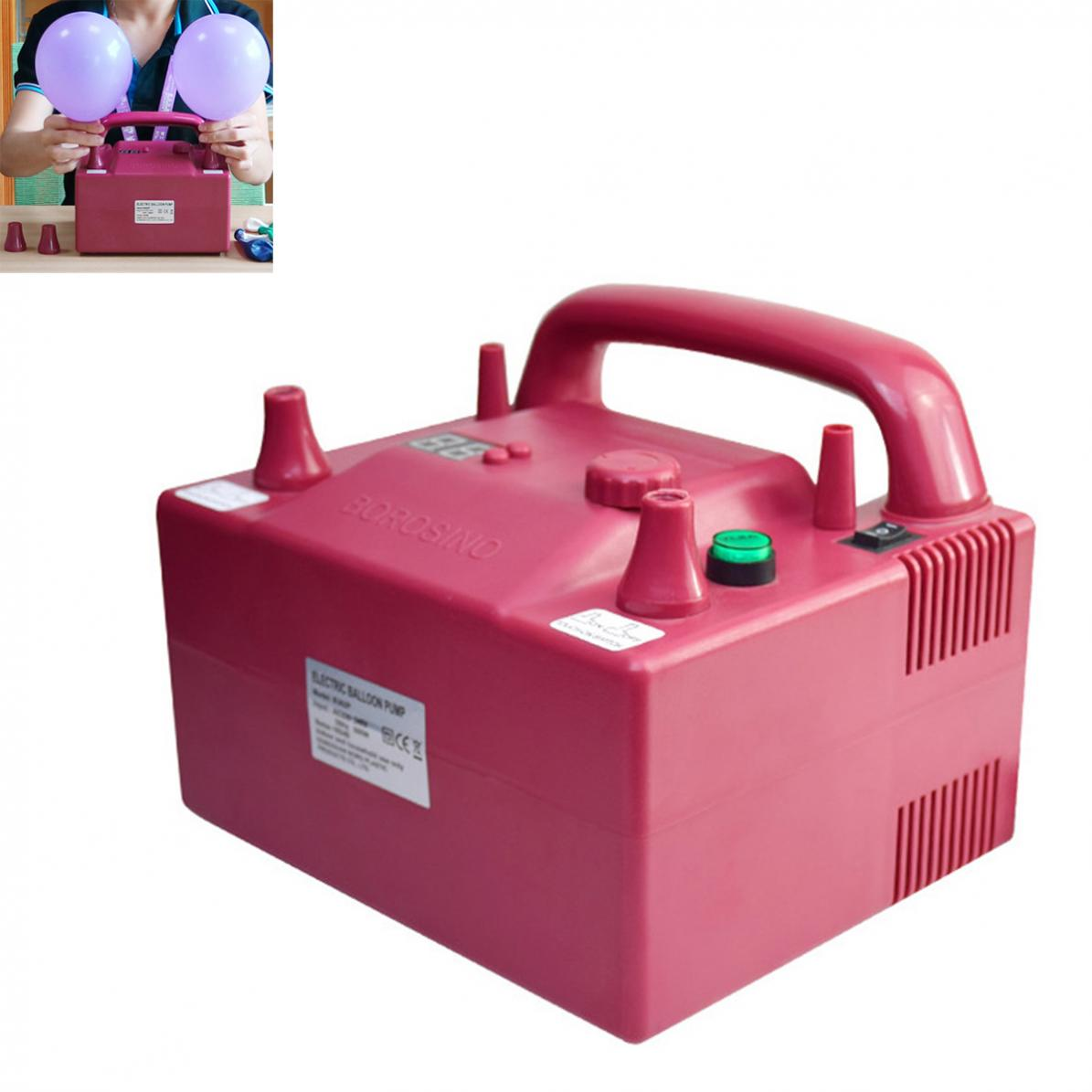 BOROSINO 800 W B362P Timing quantitatif multifonctionnel pompe à ballon électrique avec 2 buses de gonflage