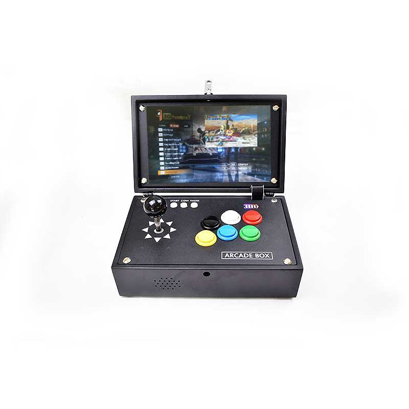 3D Pandora boîte d'arcade Version japonaise 10 LCD 2443 jeux Console d'arcade zéro retard Joystick boutons vidéo cadeau Machine