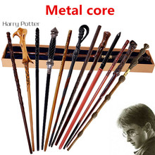 Potter magic Wand With Gift Box Packing Metal-Core Magic For Children Cosplay Harry  Magical