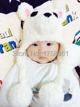 Crochet Bear hat, Polar Bear hat, winter bear, Baby Kids crochet hat, animal hat, Photography Prop