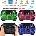 i8 Air Mouse Mini Wireless Keyboard Universal Smart Remote Control Backlit for Android TV BOX X96 T95 V88 PC PS3 Gamepad Hebrew