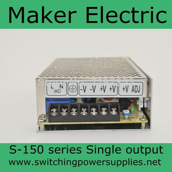 ФОТО Single output switching power supply S-150-48 48V 3.2A  150W