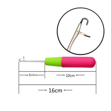 1piece Plastic Latch Crochet Hook Needle Dreadlock Craft Dread Lock Hair Extension For Synthetic Hair Wig(China)