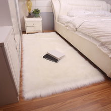 Simple plush fur carpet living room home bedroom bed full shop cute imitation wool fluffy bay window mat rug DT-45