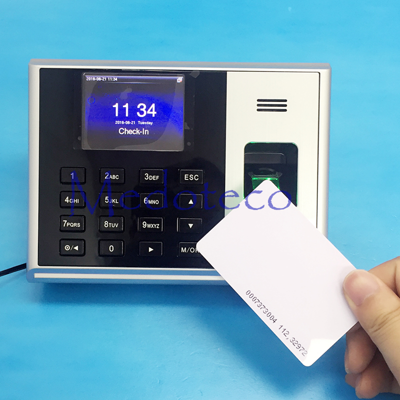 S30 TCP/IP Biometric Fingerprint Time Attendance With 125khz Rfid Reader Employee Electronic Attendance With Fingerprint Reader