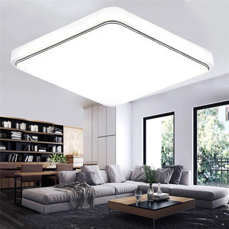 "24 w LED פנל אור 30*30 ס""מ רכוב AC85-265V מקורה Ceilling מנורת מורדן פשוט סגנון סלון חדר שינה דקור"