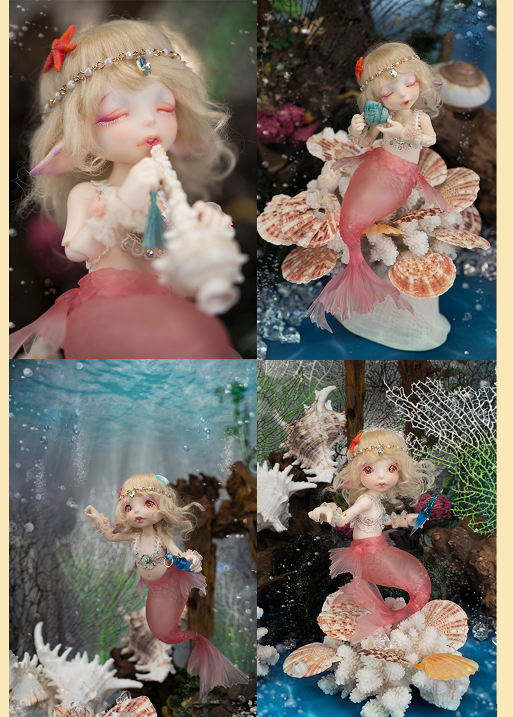 fairyland realfee mari mermaid bjd resin figures luts yosd volks doll not for  bb toy gift iplehouse popal dollchateau AoaoMeow