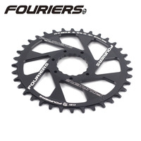 Fouriers MTB Bike Single Chainring 3mm Offset Direct Mount For Cinch NEXT R SL SIXC TURBINE AEFFECT Narrow wide Teeth Chainwheel
