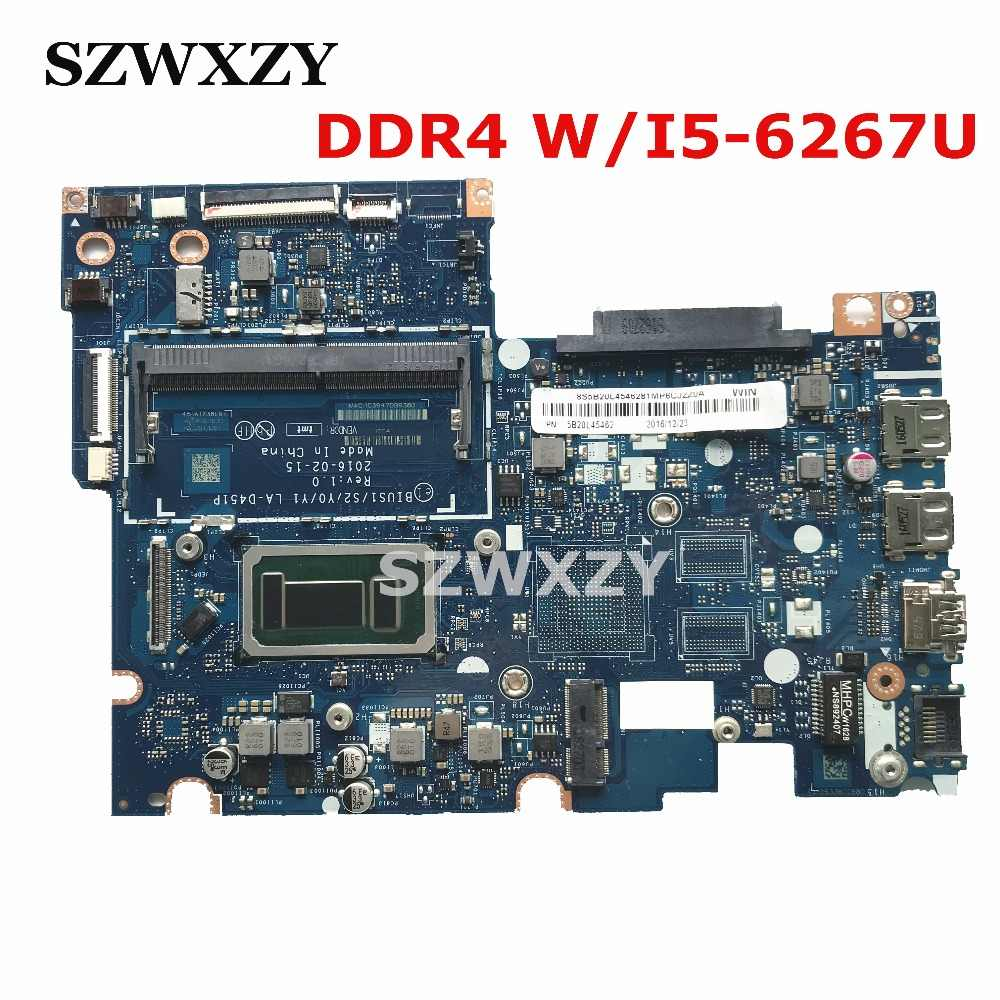 لينوفو ينوفو 510S-14ISK 310S-14ISK اللوحة المحمول LA-D451P 5B20L45338 W/I5-6267U DDR4 اختبار كامل