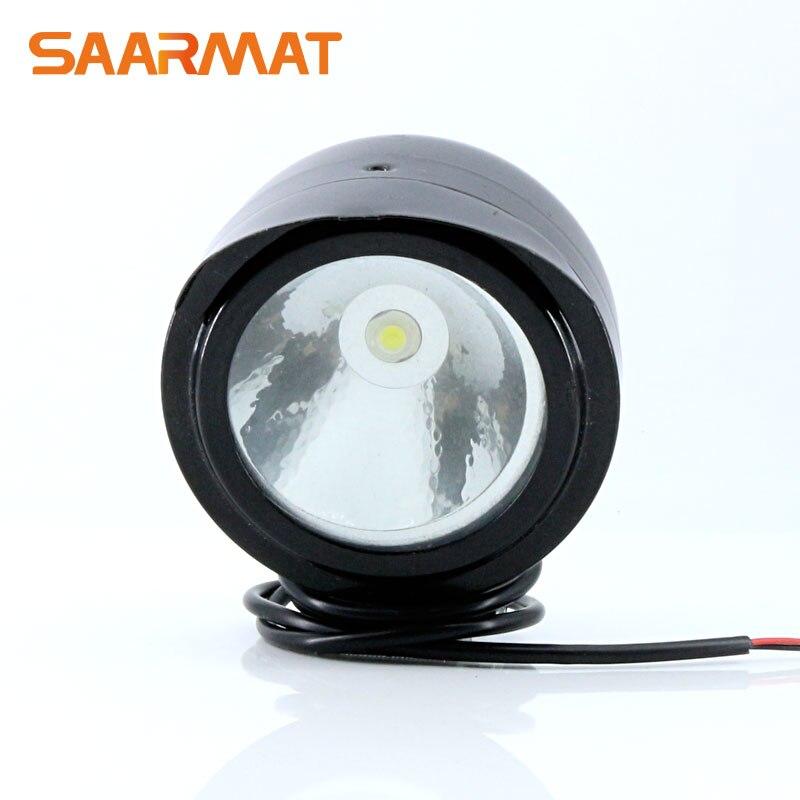Высокая Мощность LED спереди Металл фар пятно света лампы для Suzuki мотоцикл honda велосипед Off Road уличный велосипед тележки автомобиля лодка ATV