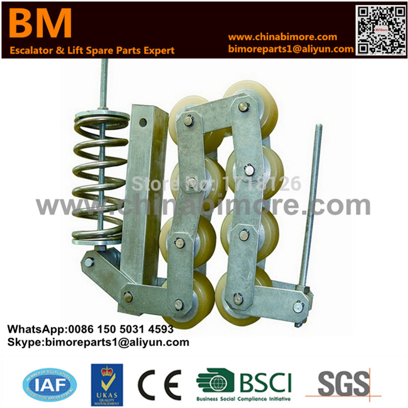 GAA332Z4,Escalator Handrail Support Chain,7 Rollers for 506NCE цены