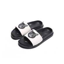 High quality flip flops fashion summer slippers slides non-slip Bathroom women Slippers unisex beach shoes men slippers indoor цены онлайн