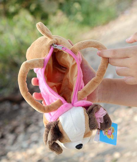 Estojos do cão pencil case bolsa Mode : Handbag