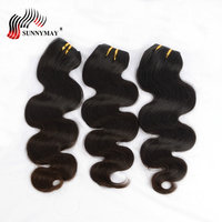 Sunnymay Brazilian Body Wave Wet And Wavy Human Hair 3 Bundle Deals Beauty Forever Hair Weave Bundles