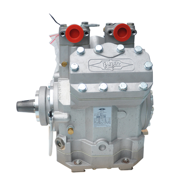 Original Airconditioning Bitzer 4NFCY V Open Type 24V Compressor Without Clutch Refreigration 647CC for Big Double Bus 9M-11M
