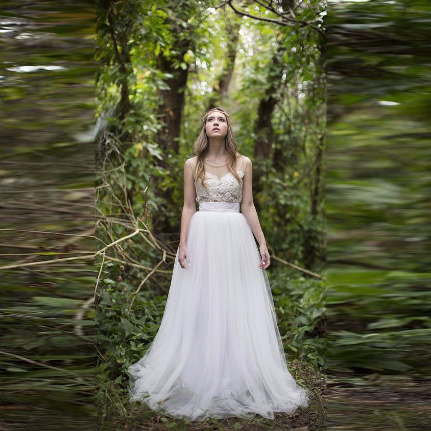 Forest Tulle Dress
