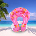 Happy Swim Swimming rings for adult children baby Inflatable water toy Pool float seat Arm floats Circle