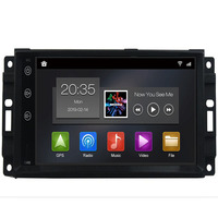 2 Din car dvd player Car Multimedia Player Android 9.0 8 core GPS for jeep Wrangler Compass 2010 2015 Chrysler wifi BT car radio